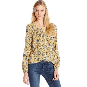 Lucky Brand • Jemma Floral Peasant Top